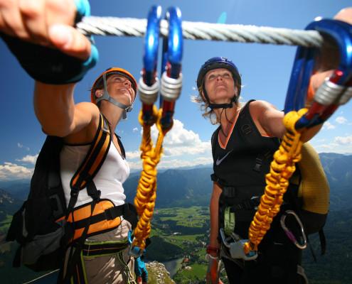 20 Klettersteige