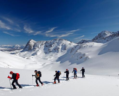 Skitouren am Dachstein
