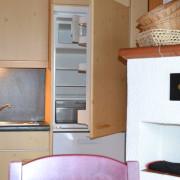 Küchenblock-Haus Fichte