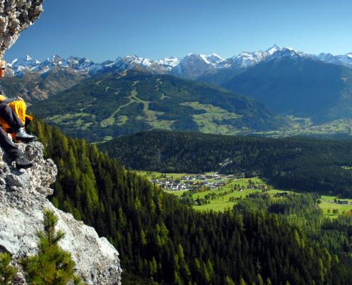 Panorama am Jungfrauensteig
