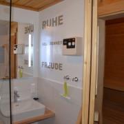 Badezimmer 1 mit Sauna