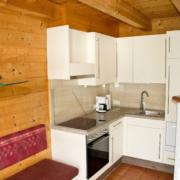 Sitzecke mit Küche